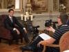 Director Geoffrey McNeil interviewing Yann Mrazek