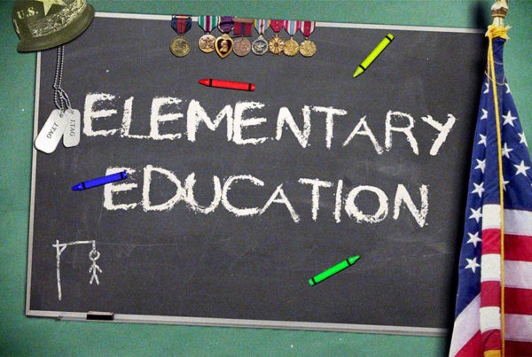 Elementary Education Title Card