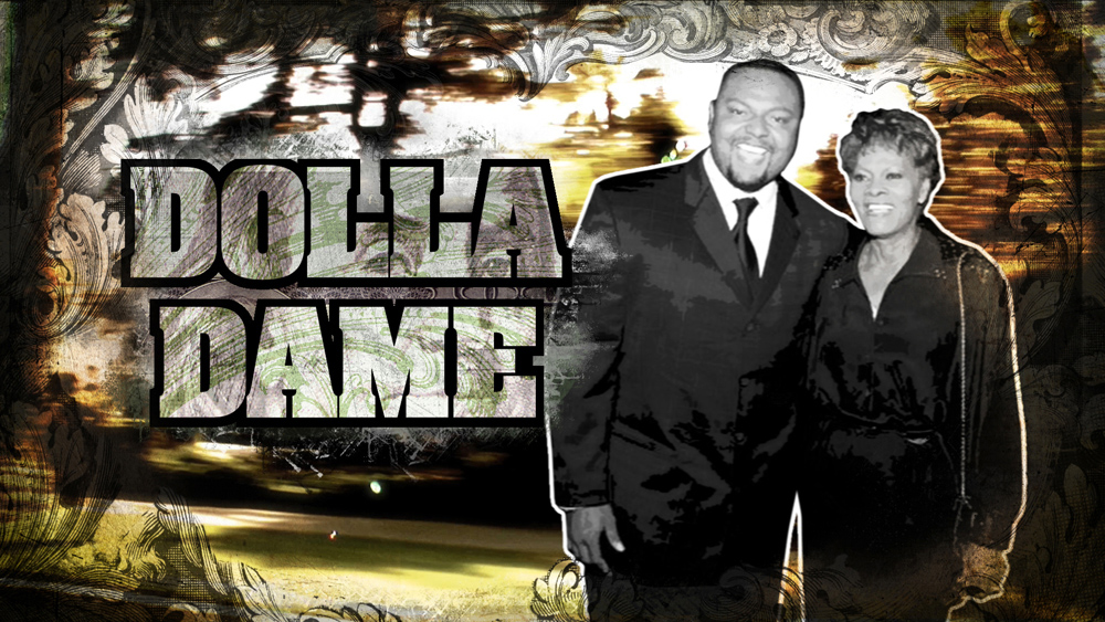 Music Producer Dolla Dame w/ Mom Dionne Warwick