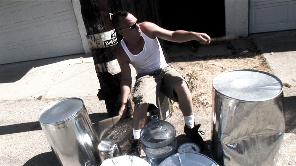 Stephen Perkins Trash Can Solo