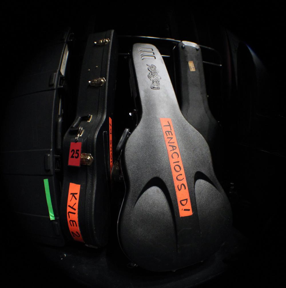 Tenacious D Guitar Cases