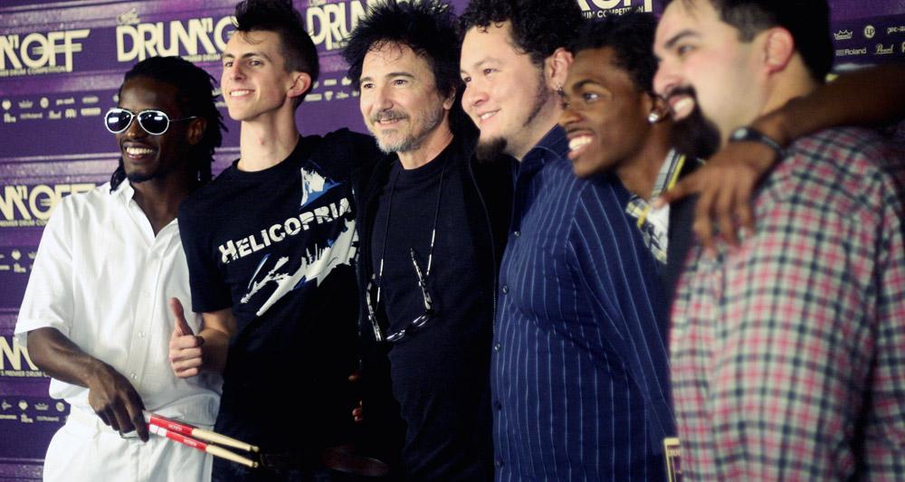 Terry Bozzio (Frank Zappa) w/ Contestants