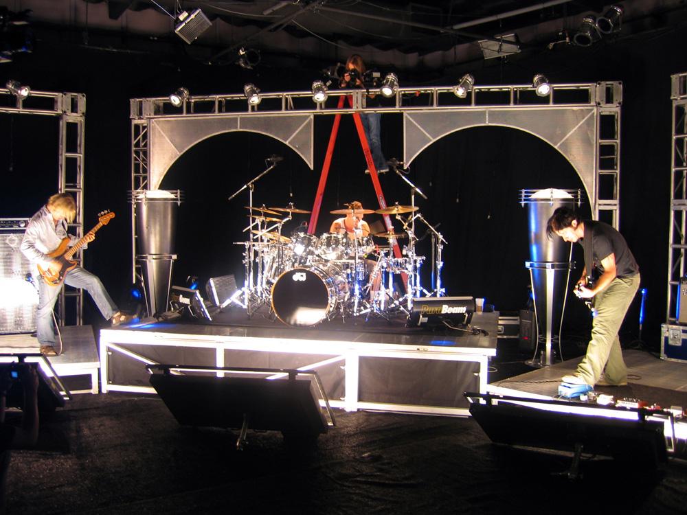 Tony Franklin, Stephen Perkins & Wes Borland on the Intergallactic Rock Set