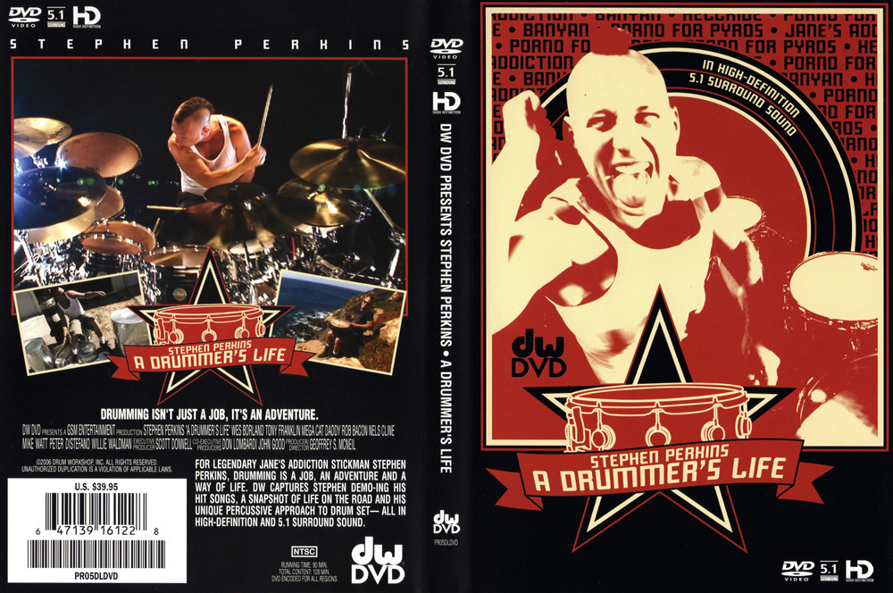 A Drummer's Life DVD Cover