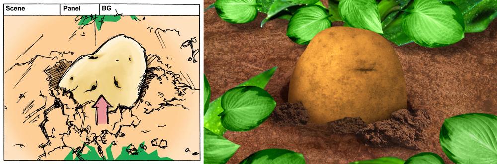 Potato Scene