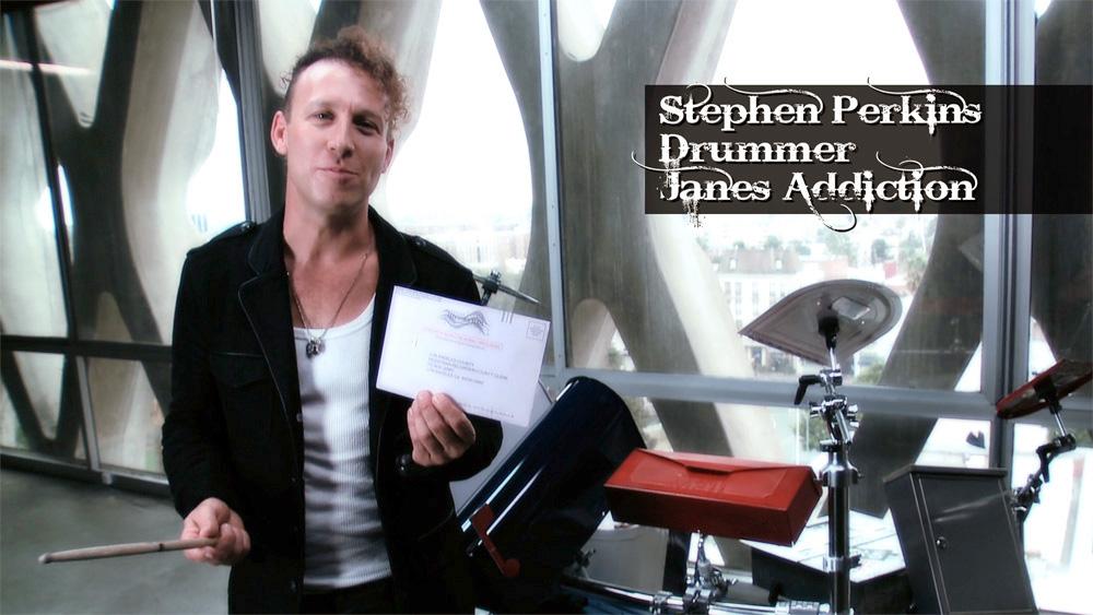 Drummer Stephen Perkins of Jane's Addiction